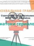 Знатоки сериалов Стрельченко О.В.